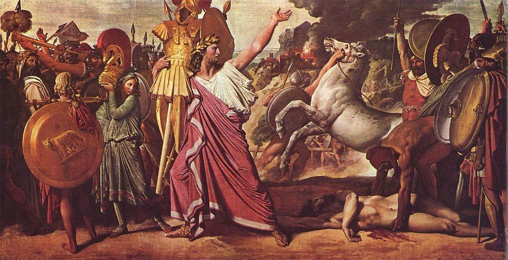 アクロンに勝利したロムルス