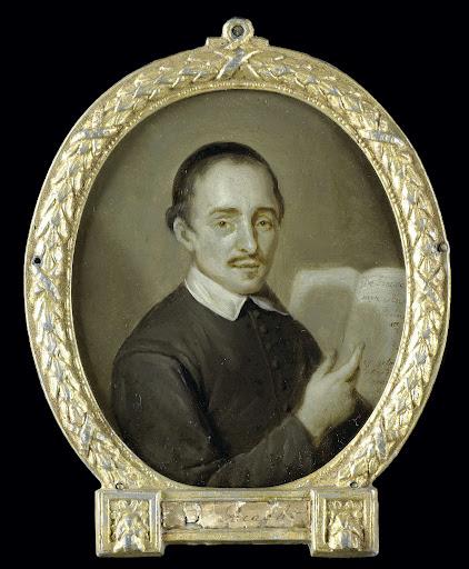 ドルトレヒトの牧師であり詩人でもあるティールマン・ジャンス・ヴァン・ブラヒトの肖像