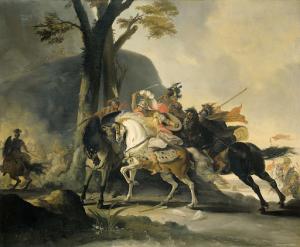 対ペルシア、グラニコスの戦いでのアレクサンダー大王