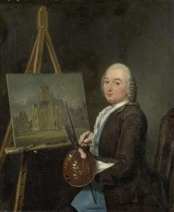 アムステルダムの画家、美術商、ヤン・テン・コンペの肖像