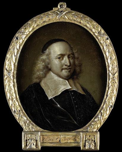 弁護士、作家、ウィレム・デ・グルートの肖像