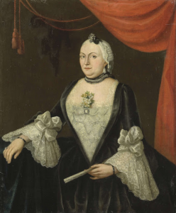 ヤン・ヘンドリック・ヴァン・リースヴィークの妻、ヨハンナ・ヴァン・リースヴィーク(1715生)