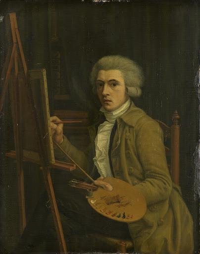 画家の肖像画、おそらく画家自身