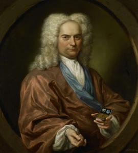 デビット・ライオンの肖像画(1682-1755)、メノー派教徒の呉服屋