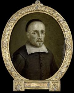 ヴェールの詩人、コーネリス・ヘンドリックス・ウデマンズの肖像
