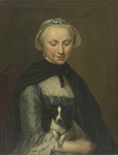 ルイ・メタヤーの一番上の姉、アントワネット・メタヤーの肖像