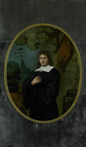 17世紀の服を着た男の肖像