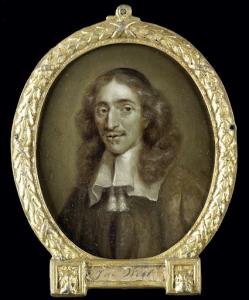 オランダの大議長、ヨハン・デ・ウィットの肖像