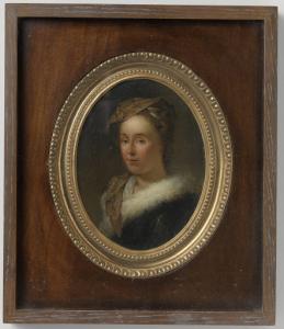 美術家の妻、サラ・シュタイアーマンスの肖像