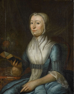 ヴェールのエヴァ・ゴードリアーンの肖像