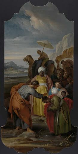 宦官を洗礼する聖フィリポ