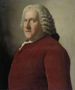 ウィレム・バンティンク・ヴァン・ルーン(1704-1774)の肖像