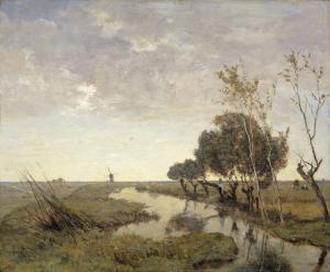 アップカウデ近くの運河