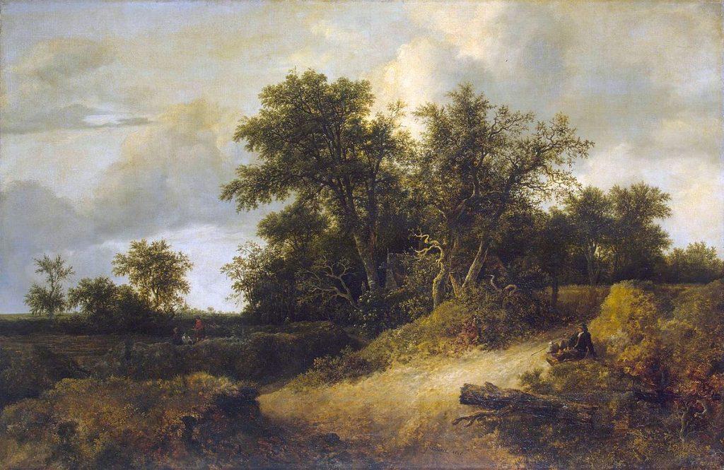 風景の中の農家
