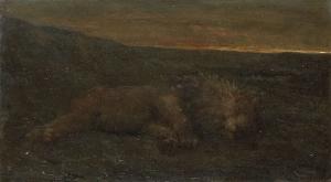 夜に眠る獅子