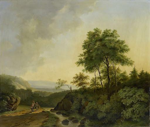 ハルツ山地の眺め