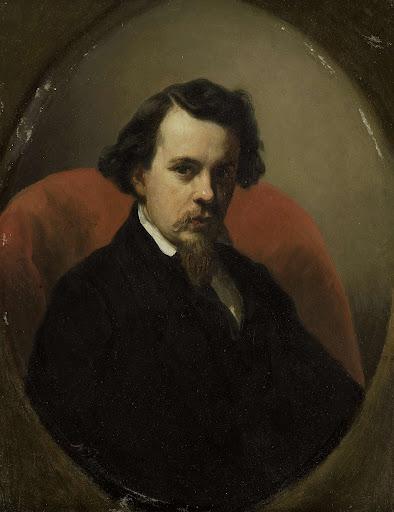 画家チャールズ・アンリ・ヨセフ・ライカーの肖像