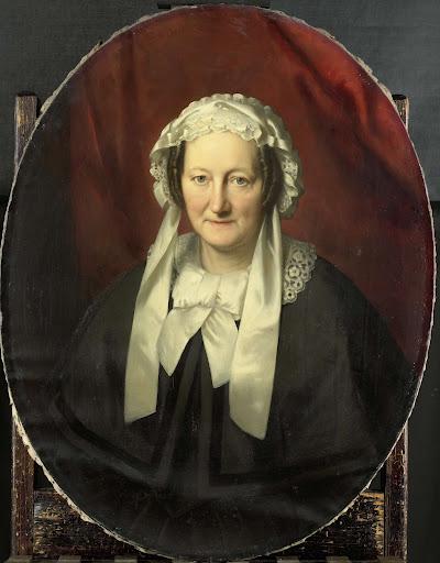 ヘンドリック・アンドレ・コーネリス・ティーレンスの妻、ヨハンナ・マリア・パーヴェの肖像