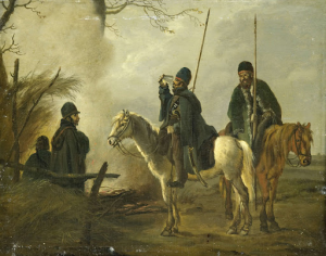 1813年の前哨騎兵