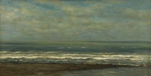ヘイストの近くの海の風景