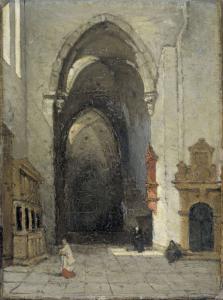 トリーアの大聖堂の中
