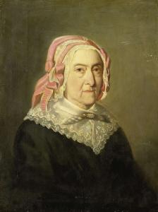 1857年、90歳のシエンタ・ニーケルク・セルヴァス