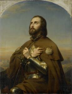 エベルハルト(1445-96)、ヴュルテンベル公、聖地の巡礼者