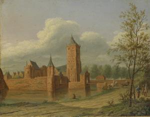 ヴァイアネン付近のバステスタインの城