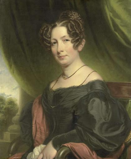 ヨハン・フレイザーの妻、マリア・アントワネット・シャーロット・サンダーソン(1782-1859)