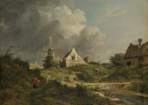 北オランダ、ゴーイ地方の風景