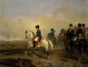 皇帝ナポレオン1世と馬の乗り手
