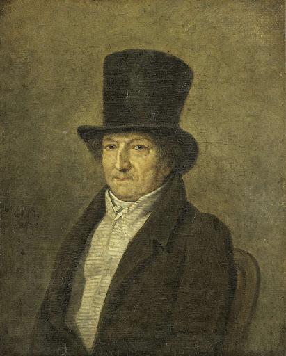 アムステルダムのアートコレクター、画家、ジャン・ベルナルドの肖像