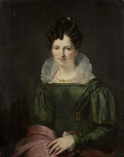 アンソニー・ヴァン・デル・フートの妻、マリア・クリスティーナ・ニーセンの肖像