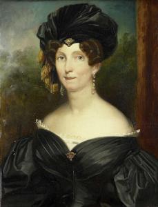 ヨンクヘアー・テオドルス・フレデリック・ヴァン・カペルンの妻、ペトローネ・デ・ランゲ(1779-1835)