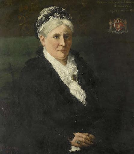 メンノ・デービッド・グラーフ・ヴァン・リムブルグ・スティルムの妻、マリア・ヘルミナ・ヒームスケルク(1827-1908)
