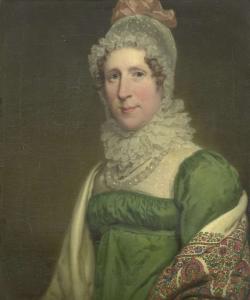 エグベルト・ヨハネス・コッホの妻、スザンナ・マリア・クロメリン(1780-1820)