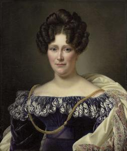 ダニエル・フランシス・シャスの二番目の妻、ヨハンナ・ヘンリエッテ・アンゲーレン(1789-1878)
