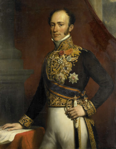 オランダ東インド諸島総督、ヤン・ヤコブ・ロックヒュッセンの肖像