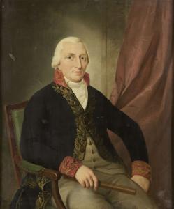 オランダ東インド諸島総督、アルベルトゥス・ヘンリカスヴィースの肖像