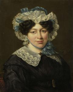 ヘルマヌス・マルティヌス・イークホートの妻、マリア・アドリアーナ・ヴァン・デル・スリュイスの肖像