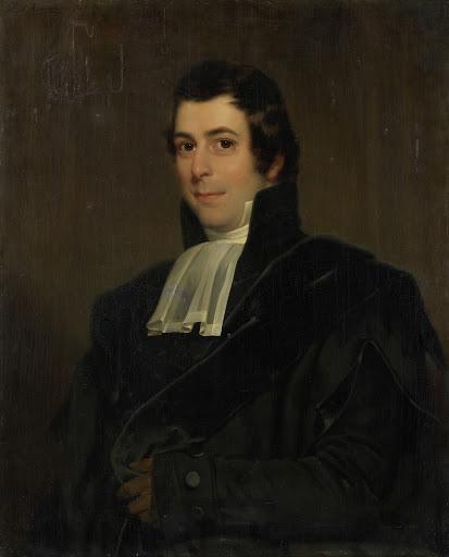 アムステルダム大学の神学と教会の歴史の教授、ギスベルタス・ヨハネス・ルーヤンス(1785-1846)