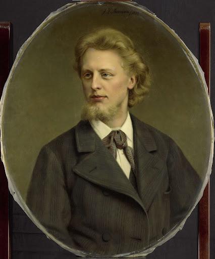ヤケス・ファブリス・ヘルマン・パーク(1859-1881)の肖像