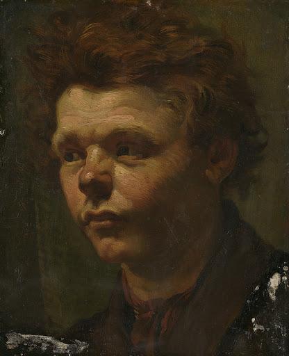 肖像画のスケッチ