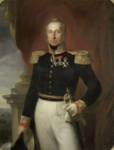 オランダ東インド諸島総督、ドミニク・ジャケス・デ・エーレンズの肖像