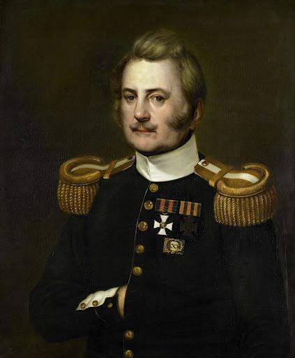 歩兵大尉、J.D.B.ウィルケンズ