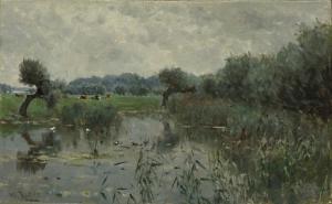 アイセル川の水牧場