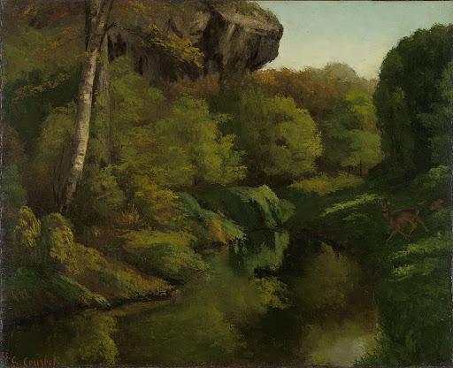 フォンテーンブルーの森の眺め