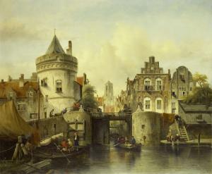 コルクロックの虚像、アムステルダム