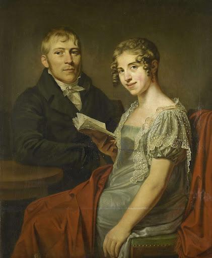 ヘンドリック・アレンド・ヴァン・デン・ブリンク(1783-1852)とその妻、ルクレティア・ヨハンナ・ヴァン・・デン・ポール(1790-1850)