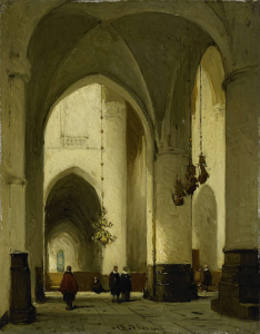 ハーレムの聖バーボ教会の内部